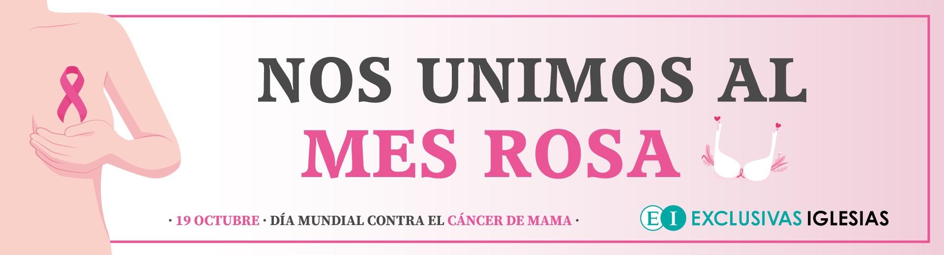 Exclusivas Iglesias se une al mesa rosa
