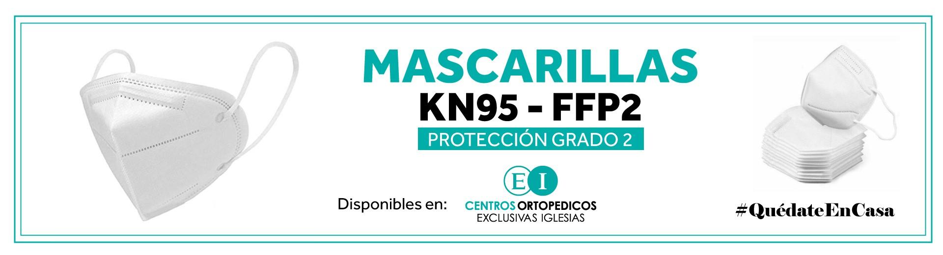 Tenemos MASCARILLAS KN95 - FFP2 con protección grado 2