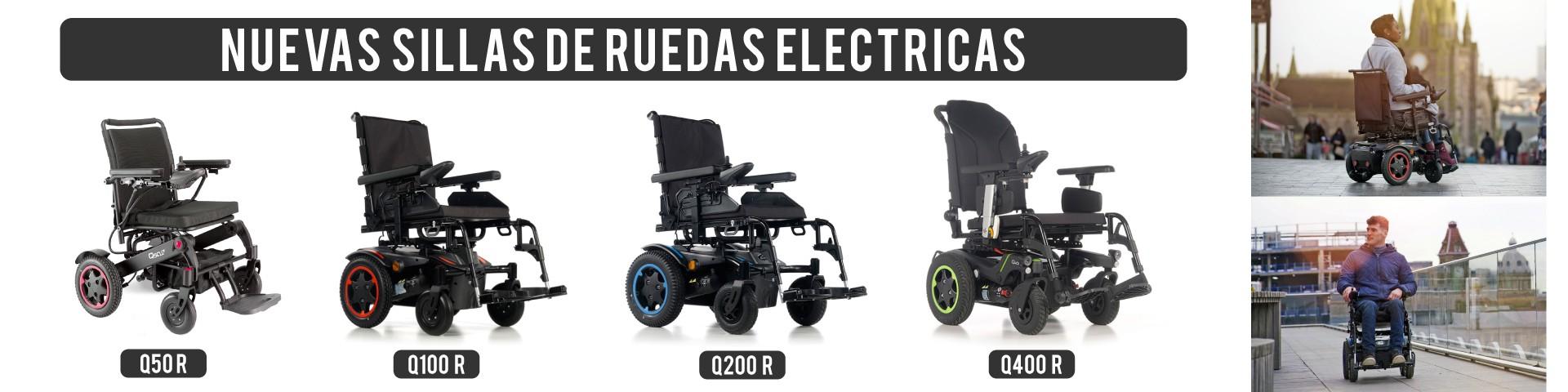 Nuevas sillas de ruedas eléctricas