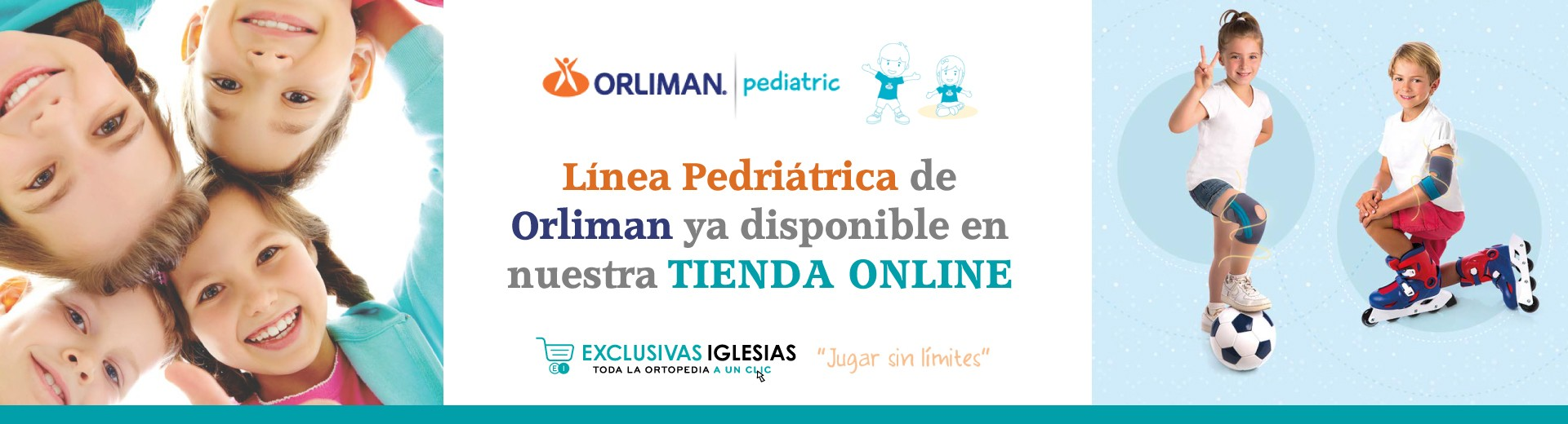 Linea Pediatric de Orliman ya disponible en nuestra TIENDA ONLINE